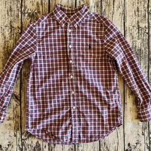 Polo Ralph Lauren Boys Button Up Shirt